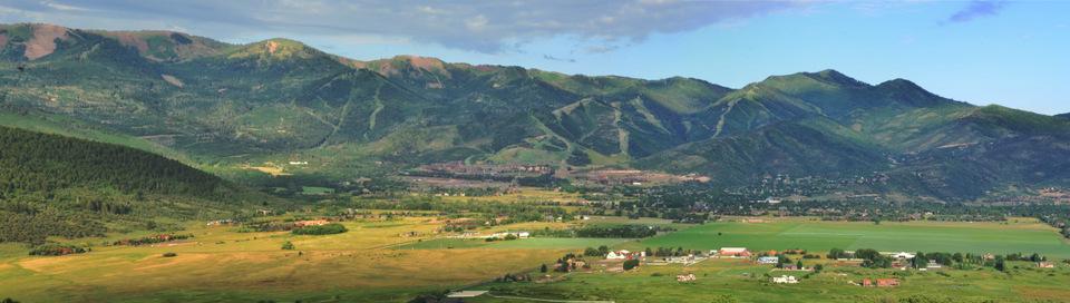 View of Canyons Resort in Park City Utah