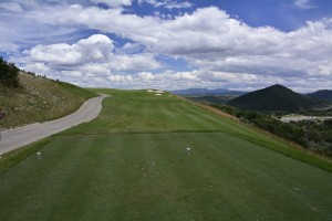 Canyons Resort Golf Course Utah Hole #5