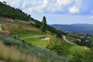 Canyons Resort Golf Course Hole #6