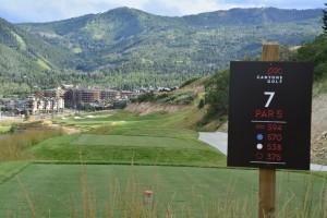Canyons Resort Golf Course Utah Hole #7