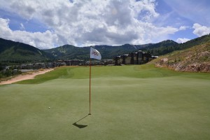 Canyons Resort Golf Course Hole #8