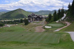 Canyons Resort Golf Course, Utah - hole #2