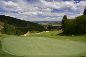 Canyons Resort Golf Course, Utah - hole #3