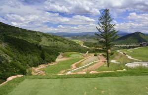 Canyons Resort Golf Course Utah - hole #4